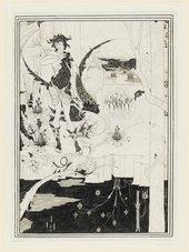 Aubrey Beardsley Siegfried, Act II 1892–3