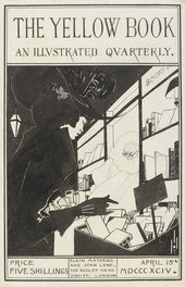 Design for the front cover of the prospectus of Aubrey Beardsley's The Yellow Book, Volume I