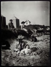 The Bell family on Studland Beach © Tate Archive