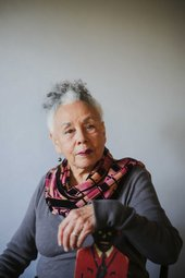 Betye Saar - photo by Ashley Walker, courtesy Roberts & Tilton, Los Angeles