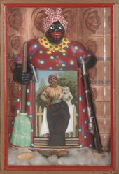 Betye Saar, The Liberation of Aunt Jemima, 1972, mixed media, 29.8 × 20.3 × 7 cm  © Betye Saar, courtesy Roberts & Tilton, Los Angeles, photo by Benjamin Blackwell