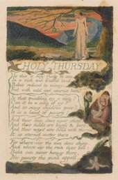 William Blake,Songs of Experience, Holy Thursday1794