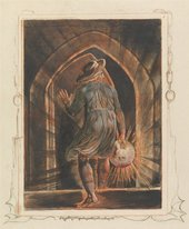 William Blake, Jerusalem, Plate 1, Frontispiece, 1804 to 1820