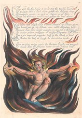 William Blake America. A Prophecy, 'Thus Wept the Angel Voice....' 1793