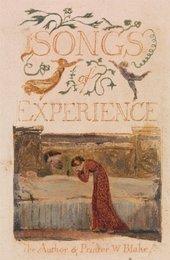 William Blake Songs of Experience title page 1794