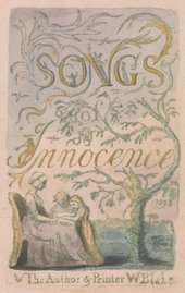 William Blake Songs of Innocence title page 1789