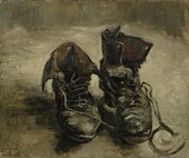 Vincent van Gogh Shoes 1886 Van Gogh Museum (Amsterdam, Netherlands)