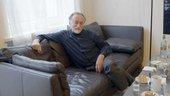 Boris Mikhailov in his studio