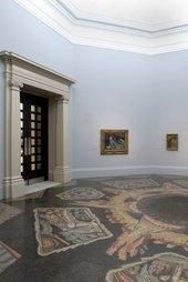 Boris Anrep Mosaic Pavement in Gallery II 1923 at Tate Britain