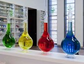 Bottles, in Pharmacy, Damien Hirst