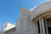 exterior of Tate st ives
