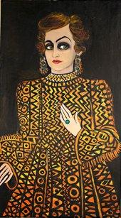 Fahrelnissa Zeid, Someone from the Past, 1980