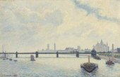Camille Pissarro Charing Cross Bridge, London 1890 National Gallery of Art, Washington, Collection of Mr. and Mrs. Paul Mellon 1985.64.32