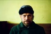 a portrait of Willem Dafoe (Vincent Van Gogh) in Julian Schnabel's AT ETERNITY'S GATE