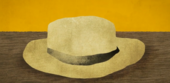 An animated version of Van Gogh's straw hat