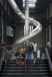 Image of Carsten Höller's Test Site, part of the Unilever Series at Tate Modern. Carsten Höller, Test Site, © Tate Photography.