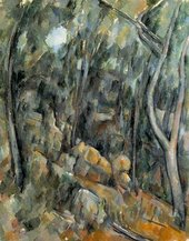 Paul Cézanne The Grounds of the Château Noirc.1900–6 Lent by the National Gallery 1997