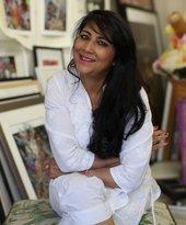 Chila Kumari Singh Burman portrait photo
