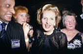 Chris Steele-Perkins, Prime Minister Margaret Thatcher and admirers at Conservative Party Conference, from The Pleasure Principle,1980–9