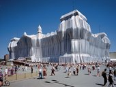 Christo and Jeanne-ClaudeWrapped Reichstag, Berlin, 1971-95