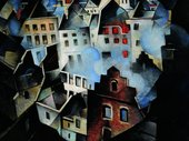 Christopher Richard Wynne Nevinson Ypres After the First Bombardment 1916 Museums Sheffield