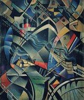 Nevinson: The Arrival, c.1913