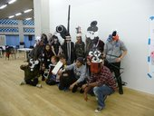 Students at City and Islington College