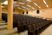 seating in the Clore Auditorium