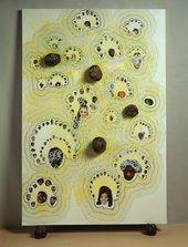 Popcorn shells by Chris Ofili