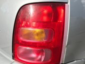 Red rear car brake light