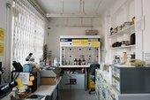photo of the Tate Microscopy Laboratory