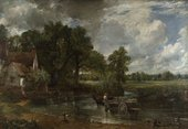 John Constable The Hay Wain 1821 Oil on canvas Courtesy The National Gallery, London