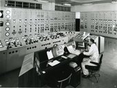 Control room of Bankside Power Station