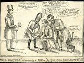 Anonymous 'The Doctor' Administering a Dose to 'A Bilious Barrister'!!! 1833 British Museum, London © Trustees of the British Museum