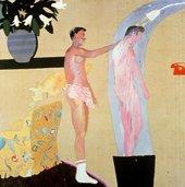 David Hockney Domestic Scene, Los Angeles 1963