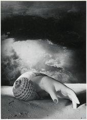 Untitled (Hand-Shell) 1934.Centre Pompidou, Musée national d'art moderne, Paris Photo © Centre Pompidou, MNAM-CCI, Dist. RMN-Grand Palais / image Centre Pompidou, MNAM-CCI © ADAGP, Paris and DACS, London 2019