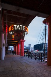 Late at Tate Liverpool