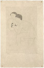 Marcel Duchamp, Selected Details After Ingres II 1968, etching with aquatint on paper, 34.5 x 23.6 cm