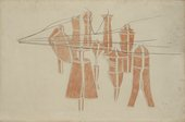 Marcel Duchamp, Cemetery of Uniforms and Liveries, No. 2 1914