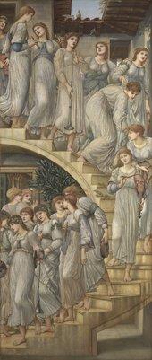 Edward Burne-Jones,The Golden Stairs1880