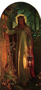 William Holman Hunt,The Light of the World1853