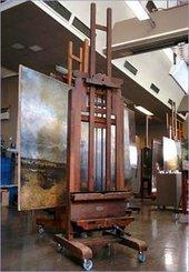 John Everett Millais's easel