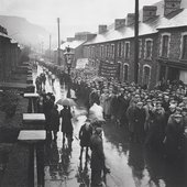 Edith Tudor-Hart, Unemployed Workers' Demonstration, Trealaw, South Wales, 1935 - National Galleries of Scotland