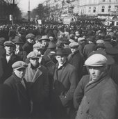 Edith Tudor-Hart, Unemployed Workers' Demonstration, Vienna, 1932 - National Galleries of Scotland