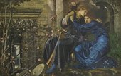 Edward Burne-Jones, Love among the Ruins 1970–3, watercolour, bodycolour and gum arabic on paper, 96.5 x 152.4 cm - Photo (c) David Parmiter