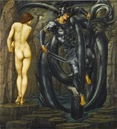 Edward Burne-Jones, The Doom Fulfilled, 1888, oil paint on canvas, 155 x 140.5 cm - Courtesy Staatsgalerie Stuttgart