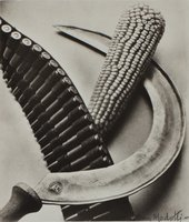 Tina Modotti Bandelier, Corn and Sickle 1927 The Sir Elton John Photographic Collection