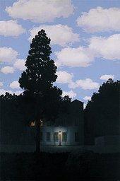 René Magritte Empire of Light (L'empire des lumières) 1953-5