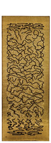 Anni Albers Epitaph 1968 The Josef and Anni Albers Foundation © Estate of Anni Albers; ARS, NY & DACS, London 2018