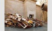Phyllida Barlow installation at Tate Britain